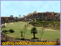 Golfing holidays in Spain